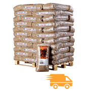 Pallet-German-Pellets-met-truck