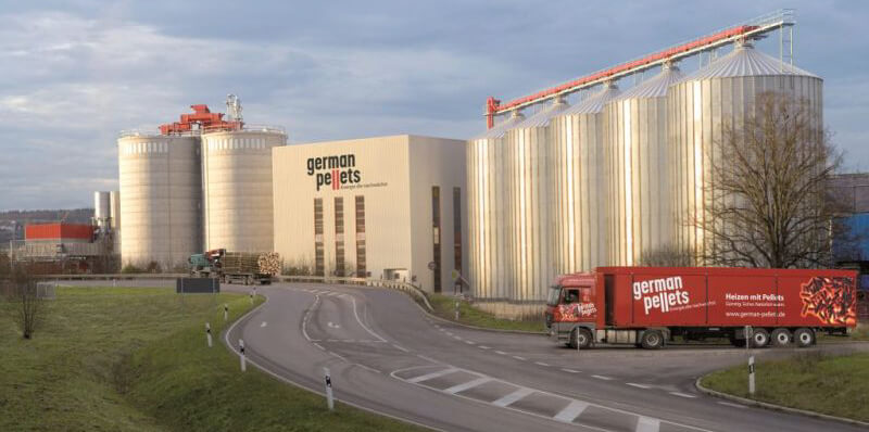 German Pellets fabriek Wismar